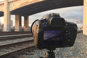Los Angeles Time-Lapse Sixth Street Viaduct