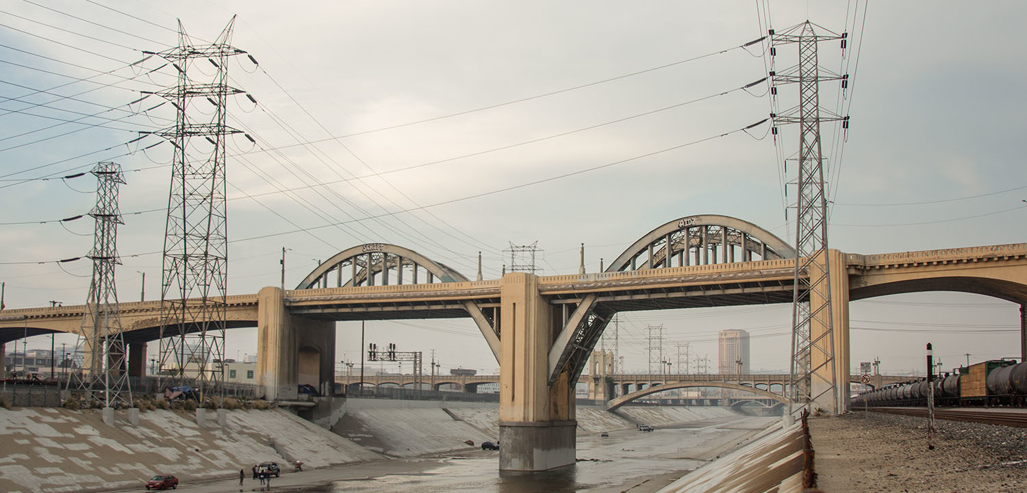 The Old Sixth Street Bridge