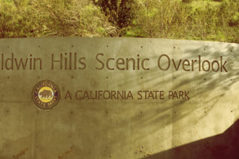 Los Angeles Baldwin Hills Scenic Overlook