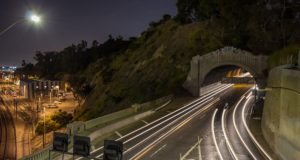 Los Angeles Time-Lapse Arroyo Seco Tunnels