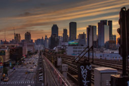 Cinematic Sunsets From Queens, New York