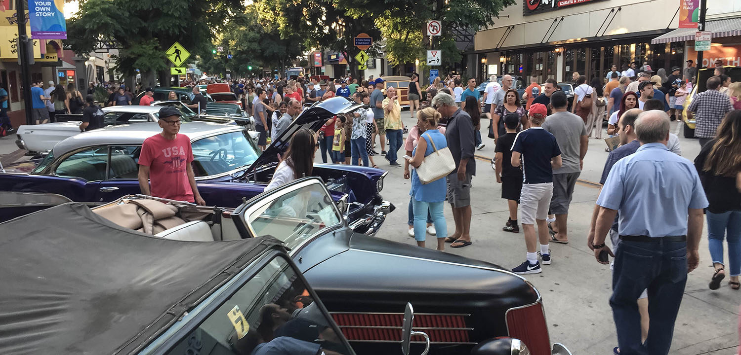 Downtown Burbank Car Classic 2019
