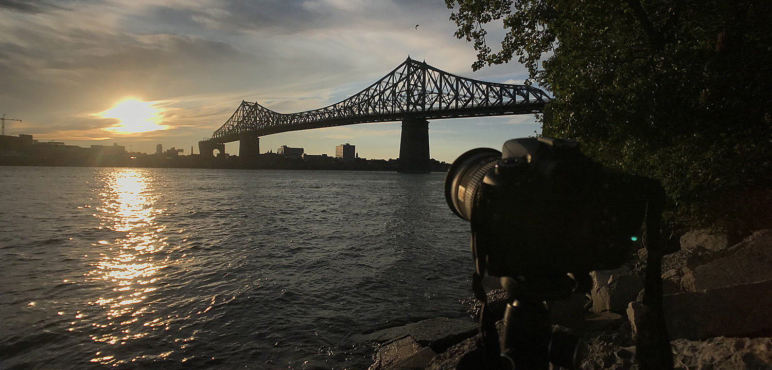 Montreal Time-Lapse Jacques Cartier Bridge Sunset