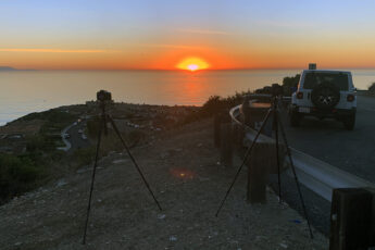 Palos Verdes Sunset Time-Lapse